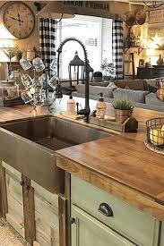 how to decorate a rustic kitchen popular modern rustic farmhouse kitchen decor ideas 17