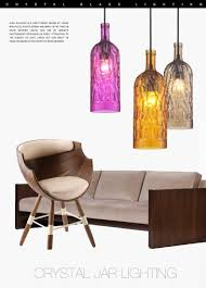 colored glass pendant lights bege candy color glass bottle hanging ceiling fixtures lamp