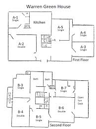 The Warren Floor Plan by Residence Halls Mead Way And Old Dorms Myslc