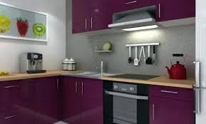mur cuisine aubergine cuisine aubergine et grise blanche mur gris simple avec choosewell co