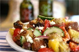 Ina Garten Panzanella Salad Olive This U2013 Recipe Greek Panzanella With Basil Olive Oil And