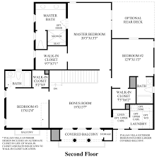 Italian Floor Plans Posante At Gale Ranch The Serres Home Design
