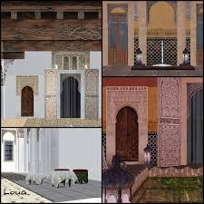 Sims 3 Awning Sims 3 Updates Luna Sims Lulamai Riad 2 Set 7 Structures