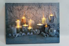 candle wall with led canvas print wall canvas paintings for