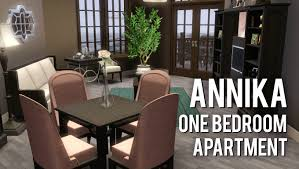 the sims 3 building annika a one bedroom apartment youtube