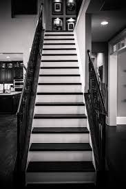 wrought iron stair railings an upgrade from traditional metal