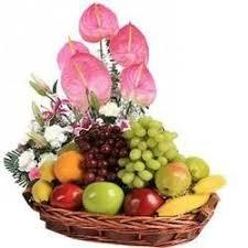 fruit basket ideas fruit flower basket flowers