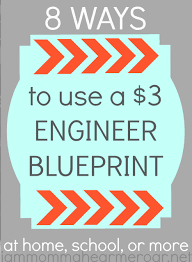 What Size Paper Are Blueprints Printed On I Am Momma Hear Me Roar 5 Ways To Use An Engineer Blueprint