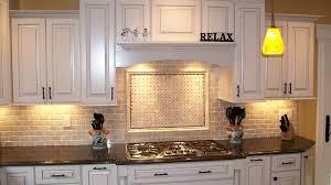large tile kitchen backsplash sea glass tile kitchen backsplash style inspirediner