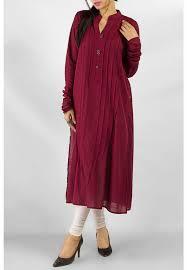 elegant mix cotton kurta dress for stylish women outfit4girls com