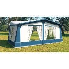 Hobby Caravan Awnings Camptech Cayman Blue Traditional Touring Caravan Awning