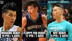 Jeremy Lin Meme - hairsanity jeremy lin had his worst new hairstyle debut vs the heat