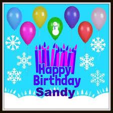 happy birthday sandy 196 pieces jigsaw puzzle