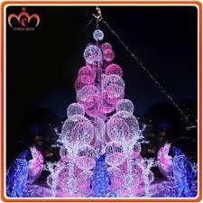 Large Christmas Decorations Wholesale by Led Motif Lighting Ball Tree Christmas Decoration Guangzhou