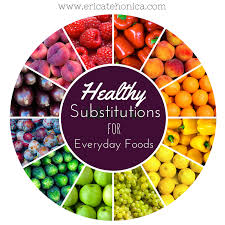 healthy substitutions for everyday foods www ericatehonica com