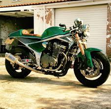 suzuki el bandito muscle racer motorrad pinterest