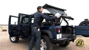 jeep frameless soft top bestop how to get the most from your jeep soft top youtube