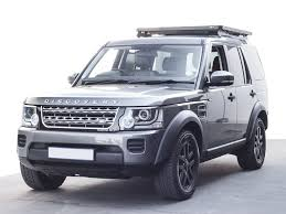 lifted land rover lr3 land rover discovery lr3 lr4 slimline ii 3 4 roof rack kit by