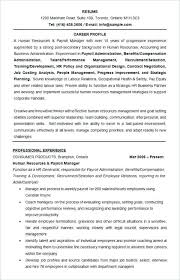 manager resume summary human resources manager resume summary hr samples professional