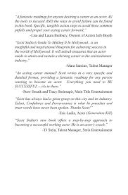 scott sedita u0027s guide to making it in hollywood book