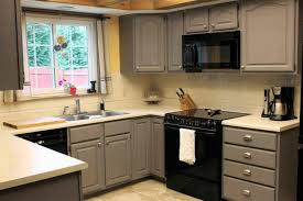 Kitchen Cabinets Black And White by Matte Grey Kitchen Cabinet Black Glass Kitchen Appliances Matte