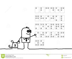 Alphabet Blind Blind Man U0026 Braille Alphabet Royalty Free Stock Photos Image