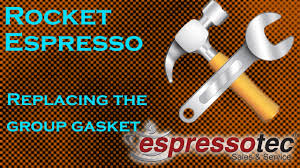 rocket espresso machine maintenance replacing the group gasket