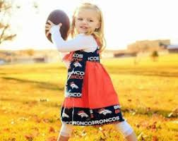 Denver Broncos Cheerleader Halloween Costume Denver Broncos Dress Etsy