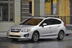 small subaru hatchback most efficient awd cars beat the snow and the gas pump