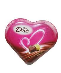 dove chocolate hearts dove milk chocolate valentines truffle hearts 3 04oz dove delights