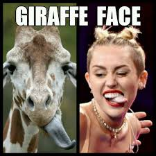 Funny Duck Face Meme - giraffe face the new duck face know your meme