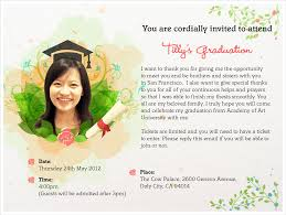 Graduation Party Invitation Card Invitation Card For Graduation Kawaiitheo Com