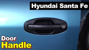 2003 hyundai tiburon door handle 2003 hyundai santa fe door handle