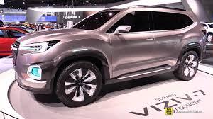subaru viziv truck subaru viziv 7 suv concept walkaround 2017 detroit auto show