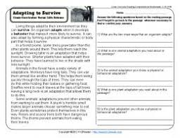 cross curricular reading comprehension worksheets d 8 of 36