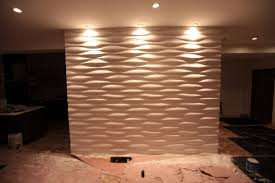 interior gorgeous images of white modular art wall panels for