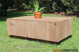 Free Wooden Coffee Table Plans by Rogue Engineer Free Modern Floating Coffee Table Plans