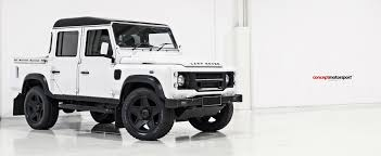 land rover 110 truck defender chelsea truck co concept motorsport