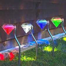 solar led stake lights babz 4 x stainless steel solar stake light colour changing