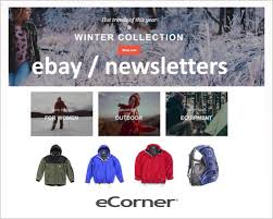 ebay template design ebay or newsletter templates ecorner