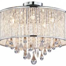 Leather Chandelier Accessories Beautiful And Stylish Flush Mount Chandelier Creating