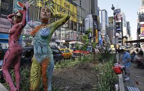 12 reasons to love and celebrate nyc bodypainting day july