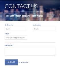 website form templates exol gbabogados co
