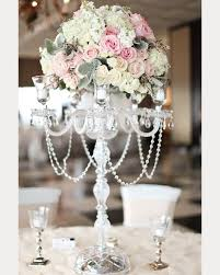 Tall Table Centerpieces by 25 Best Chandelier Centerpiece Ideas On Pinterest Floral