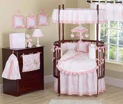 Fascinating 40 Pink House Decoration by Appealing Round Crib Sets 40 For Your Layout Design Minimalist