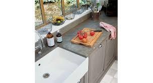 plan de travail cuisine en zinc plan de travail en zinc beautiful finest trendy cuisine bois et