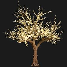 bright baum led light cherry artificial tree 11 warm white