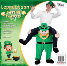 carry me leprechaun costume for st patrick u0027s day parties by wicked