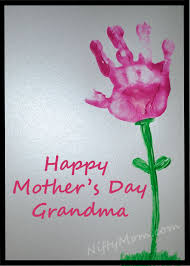 mothers day gifts s day gift idea handprint flower