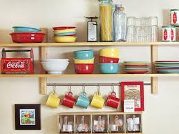Extra Kitchen Storage Furniture Elegant Wooden Floating Shelf To Store Extra Kitchen Items For